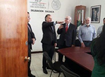 Nombran a Germán Cervantes Ayala delegado federal de la SEP en Oaxaca