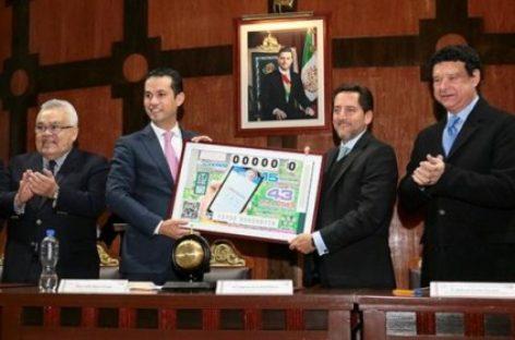 Realiza Lotería Nacional sorteo conmemorativo por el 75 Aniversario del IMSS