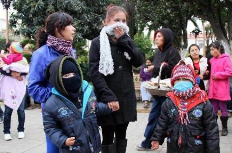 Por Frente Frio 23, exhorta IMSS a la población a protegerse para evitar enfermedades respiratorias