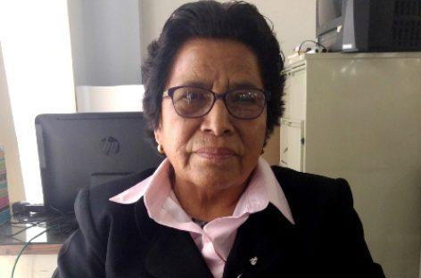 Enfermera Jovita Chávez Cruz, sinónimo de profesionalismo, empeño y compromiso