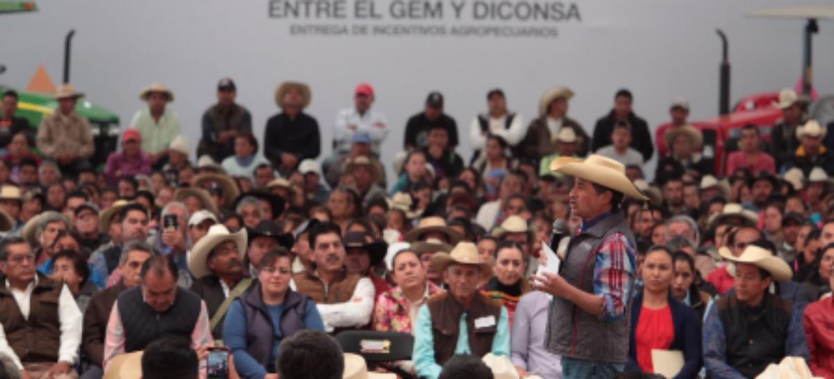Adquiere Diconsa 30 mil toneladas de maíz a campesinos del Estado de México