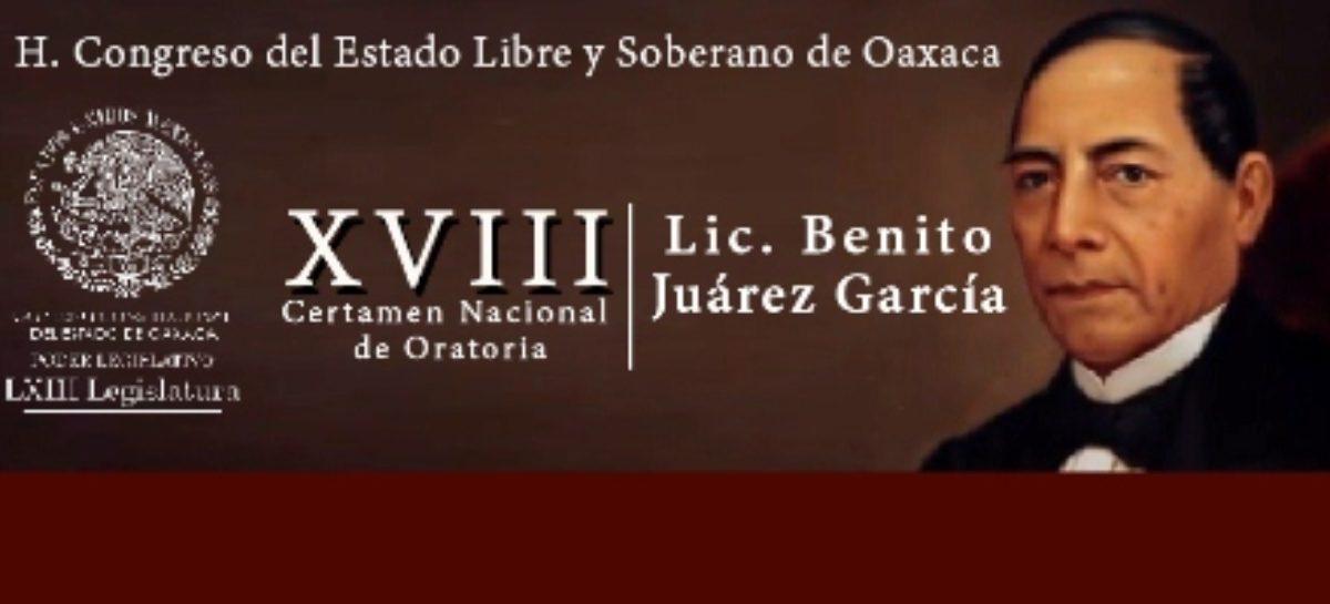 Presentará Congreso de Oaxaca Convocatoria para Certamen de Oratoria