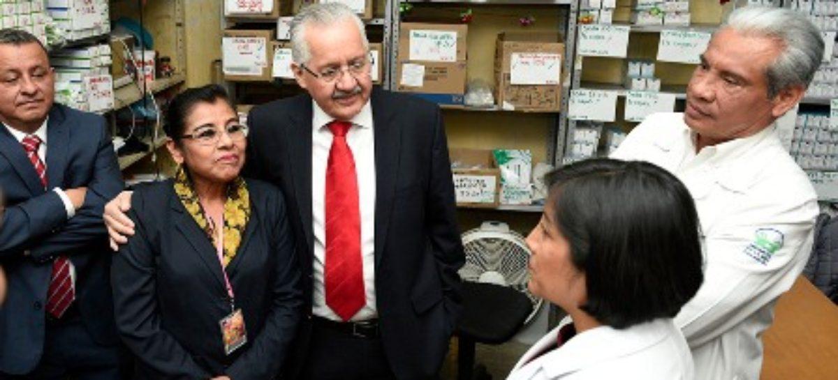 Orden y cercanía social, pilares del nuevo rostro de la Secretaría de Salud: Díaz Pimentel