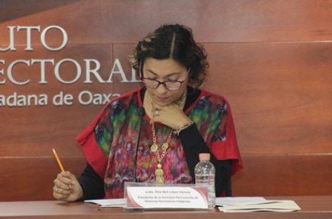 Avanza participación de mujeres en cabildos de sistemas normativos indígenas