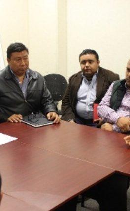 Trabaja SINFRA con autoridades de la Sierra Sur para realizar obras prioritarias