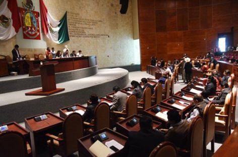 Legislatura de Oaxaca se pronuncia por garantía a Derechos Humanos