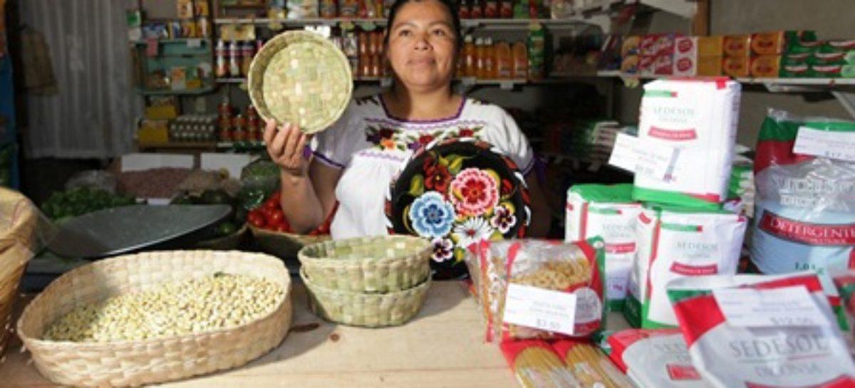Operan más de 24 mil tiendas Diconsa como unidades de servicio a la comunidad