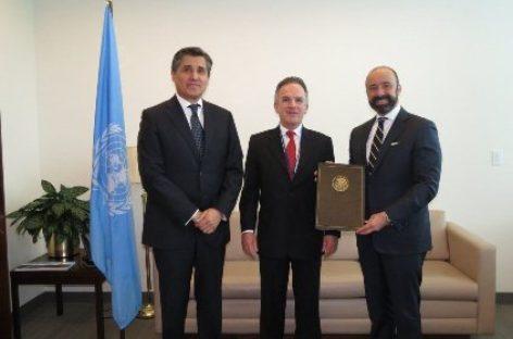 Ratifica México en la ONU el Tratado sobre la Prohibición de las Armas Nucleares