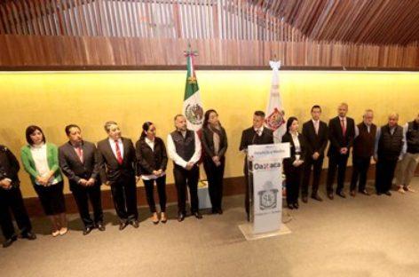 Realiza Alejandro Murat Hinojosa cambios en el Gabinete Estatal