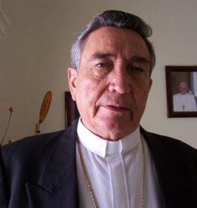 Teodoro Pino Miranda, obispo de la Diócesis de Huajuapan de León.