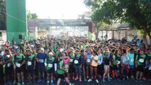 La justa atlética contó con la participación de más de mil corredores.
