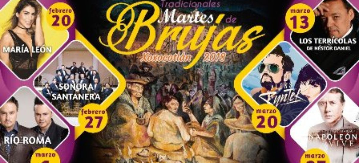 """Todo listo para la cuadragésima edición de los """"Martes de Brujas"""" en Xoxocotlán"""