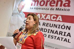 Líder estatal de Morena
