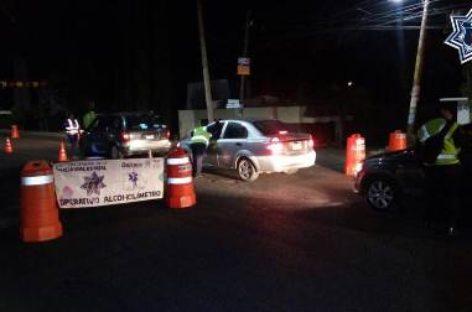 Arrestados 19 conductores este fin de semana durante Operativo Alcoholímetro