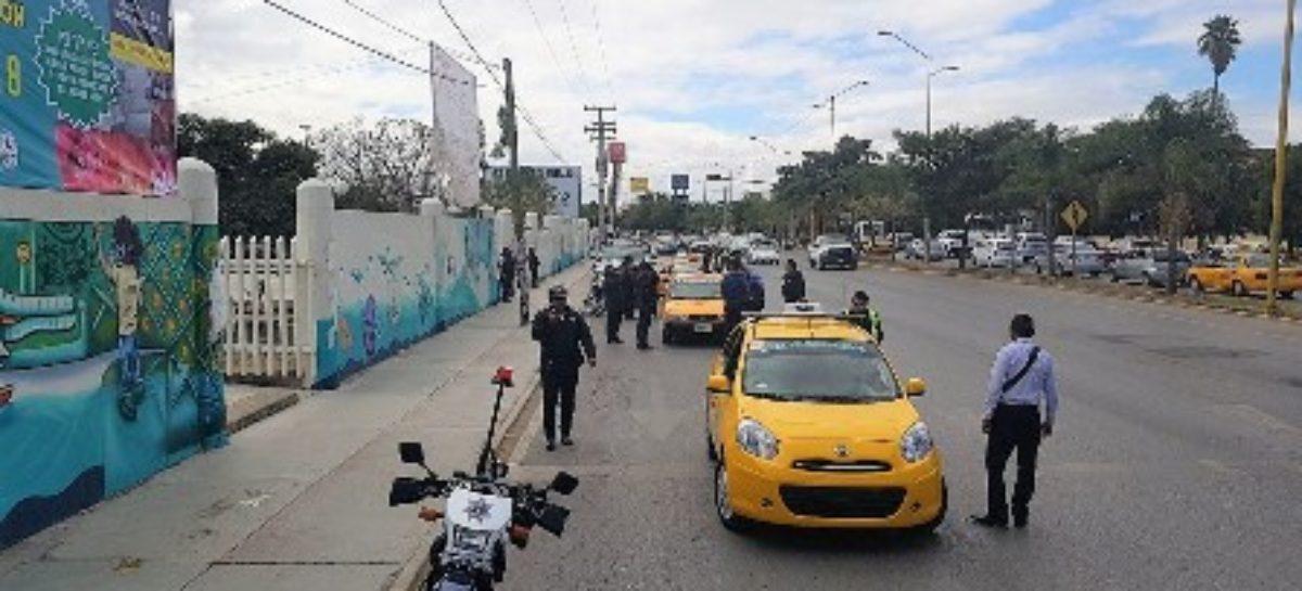 Asegura SEVITRA unidades ilegales en operativos al transporte público en Oaxaca