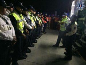 La Policía Vial del Estado desplegó el operativo durante el fin de semana.