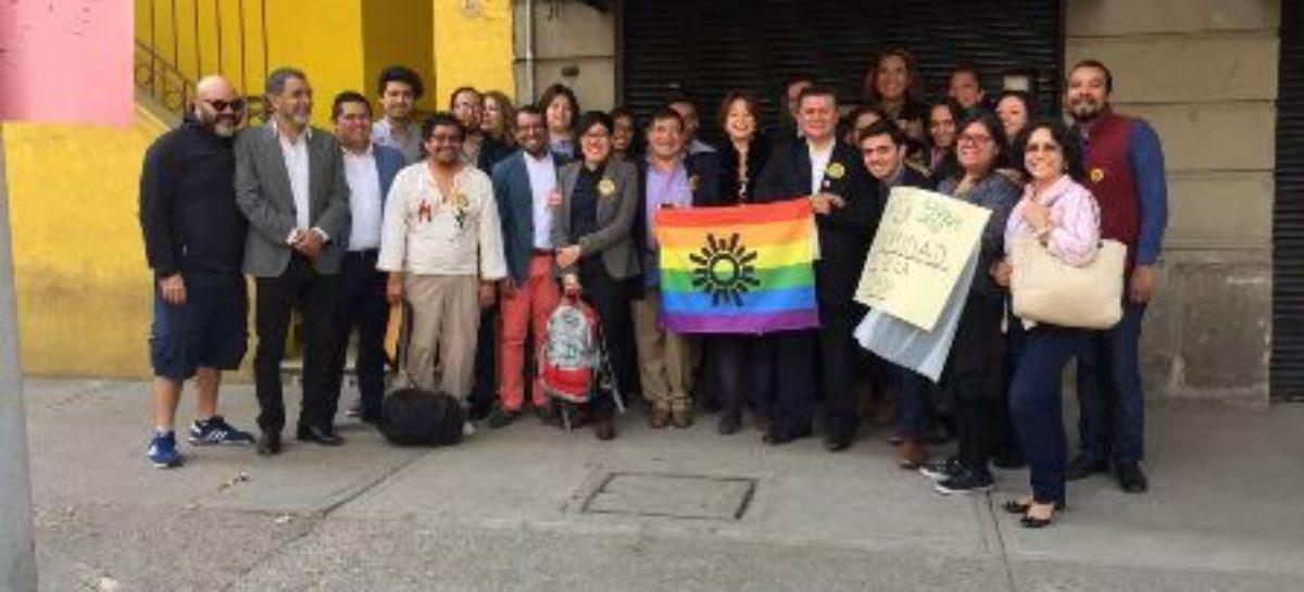 Registra PRD candidatos de la diversidad sexual a puestos de elección popular