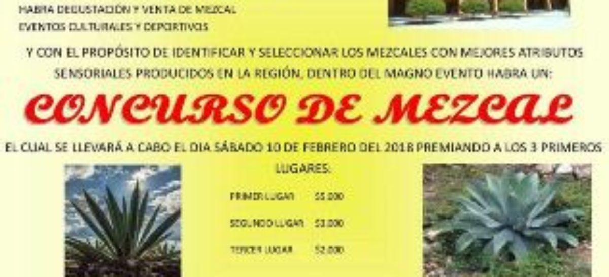 Anuncian Primera Expo Feria del Mezcal Teozacoalco 2018
