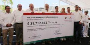 Para reconstrucción de viviendas en Oaxaca