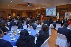 Desayuno informativo mensual de los socios COPARMEX CDMX.