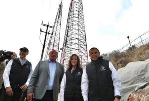 Invierte Senado 31.1 millones de pesos para la construcción de la caseta y la antena.