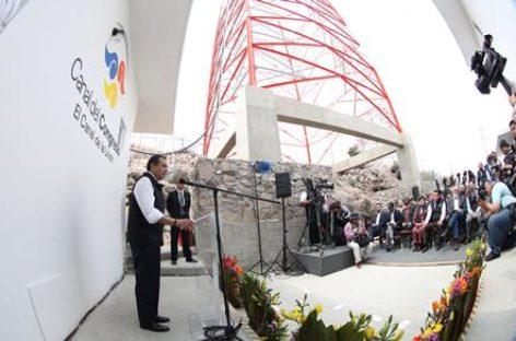 Inauguran instalaciones de transmisión del Canal del Congreso en el Cerro del Chiquihuite