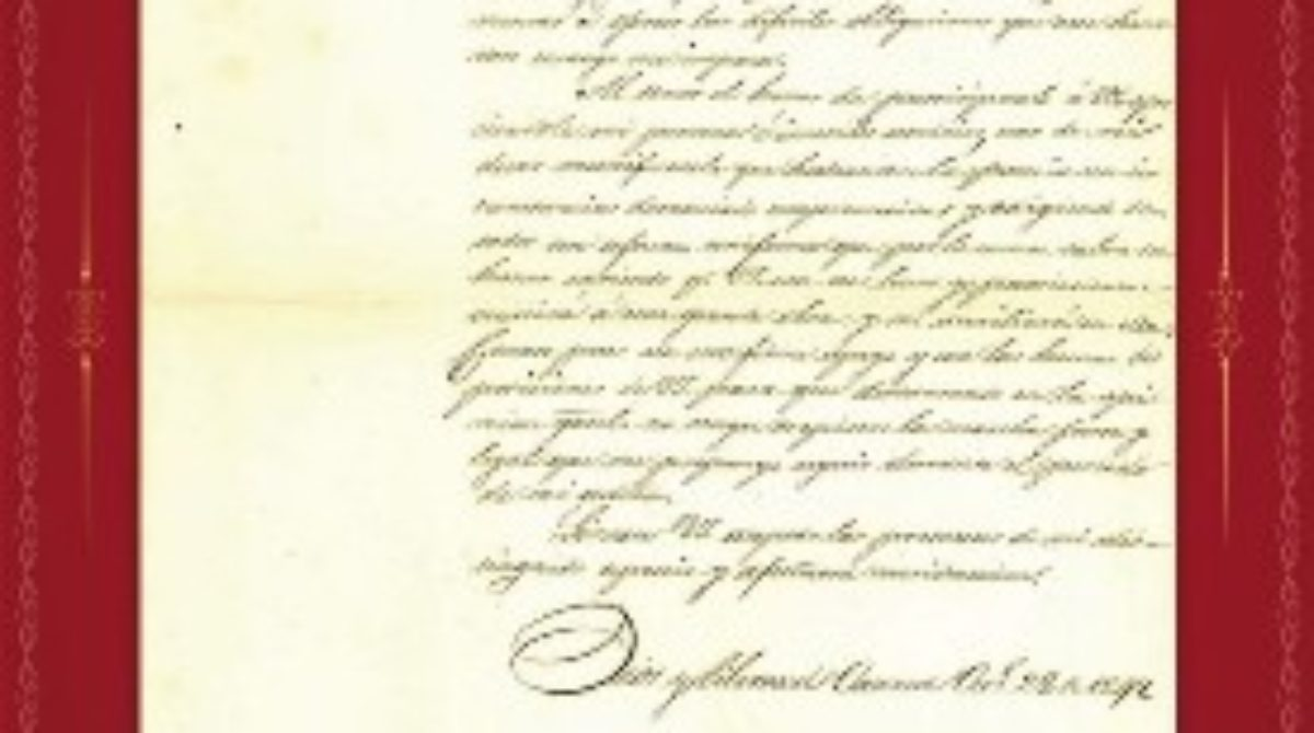Guarda AGEO testimonio del juramento de Don Benito Juárez como gobernador de Oaxaca en 1847