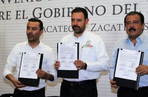 Firman Diconsa y Gobierno de Zacatecas convenio para comercializar Frijol