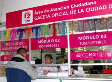 Realiza GCDMX cuatro mil 800 trámites notariales