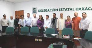Díaz Pimentel señaló que la delegación del IMSS en Oaxaca va por el rumbo correcto.