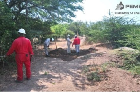 Controla Pemex toma clandestina en el municipio de Asunción Ixtaltepec, Oaxaca