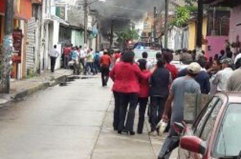 Ni heridos ni muertos por incendio en bodega de servicios de salud en Tuxtepec: CEPCO