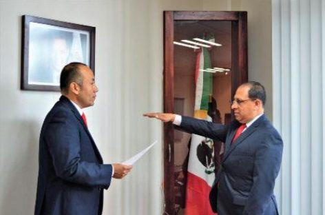 Asume José Carlos Cervantes como subsecretario de Regulación y Control de Transporte en Sevitra