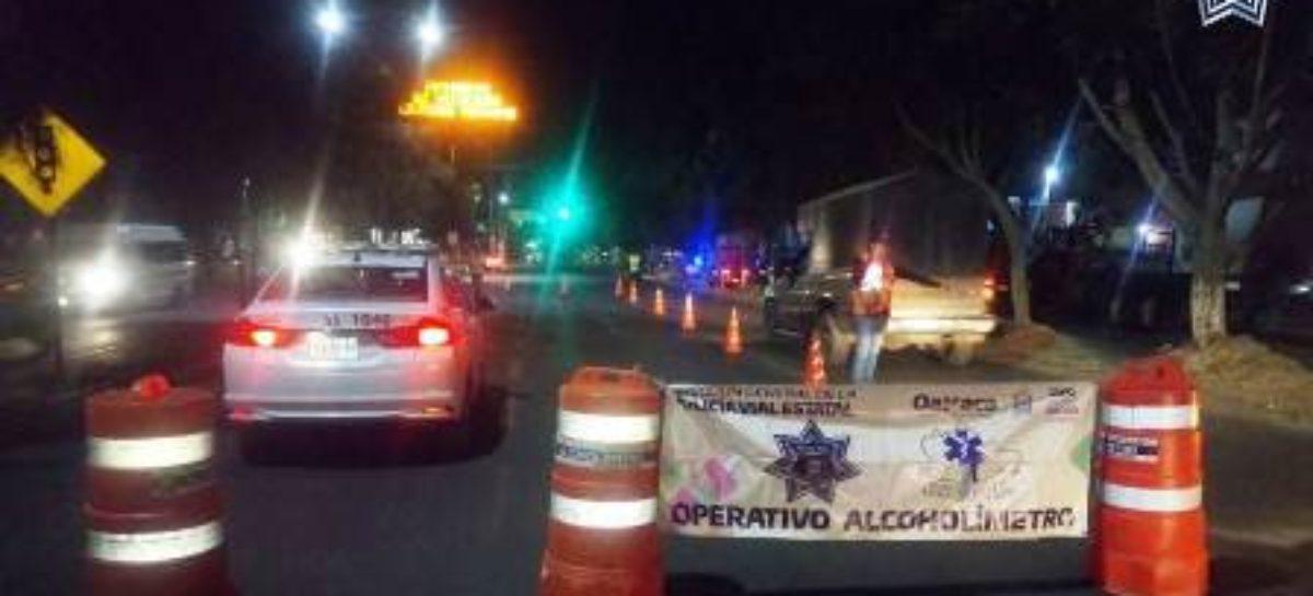 Arrestados 30 conductores en el Operativo Preventivo Alcoholímetro: SSPO