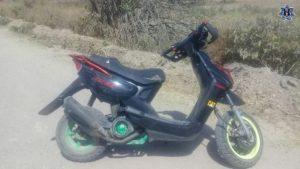 Recuperan dos motocicletas