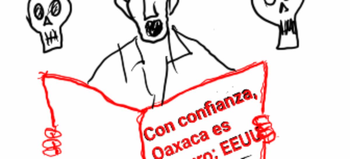 El consuelo del gobierno de Oaxaca