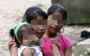 Niñas pobres e indígenas