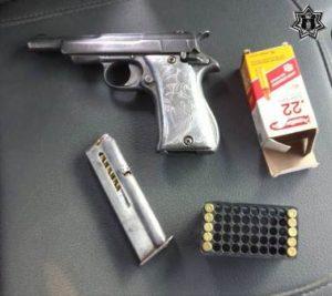 Detenido con un arma de fuego