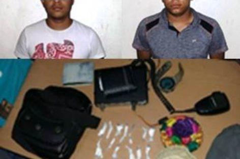 En dos operativos, detenidas cuatro personas por delitos contra la salud y robo