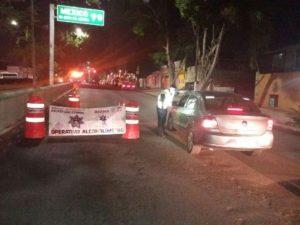 Los conductores cumplieron 24 horas de arresto inconmutable.