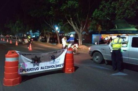 Arrestados 19 conductores en Operativo Alcoholímetro en Valles Centrales y la Cuenca