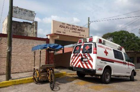 Evacua CEPCO escuela en Tuxtepec afectada por monóxido de carbono