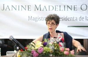 Magistrada presidenta del TEPJF