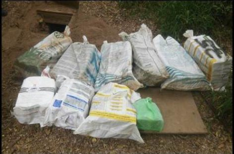 Decomisan metanfetamina y heroína en dos estados; Dos detenidos por delitos contra la salud
