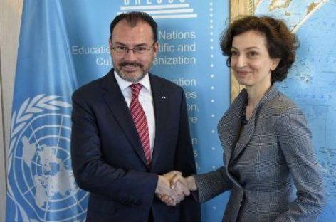 Firman gobierno de México y UNESCO Acuerdo para crear Centro Regional de Seguridad Hídrica