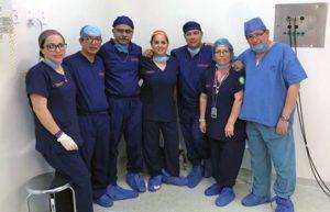 Utilizan técnica denominada Nefrectomía Laparoscópica con Mano Asistida.