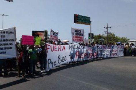Puerto Escondido la violencia opaca visita de Meade
