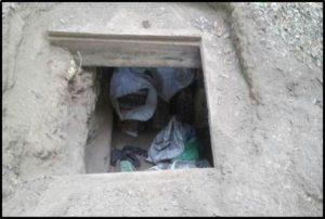 Localizan en una cisterna 177 paquetes de heroína de un kilogramo cada uno.
