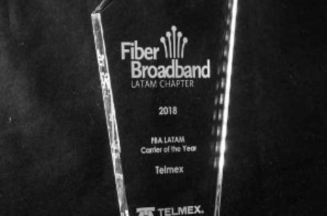 Recibe Telmex reconocimiento Carrier FBA 2018 por tener la red más vanguardista
