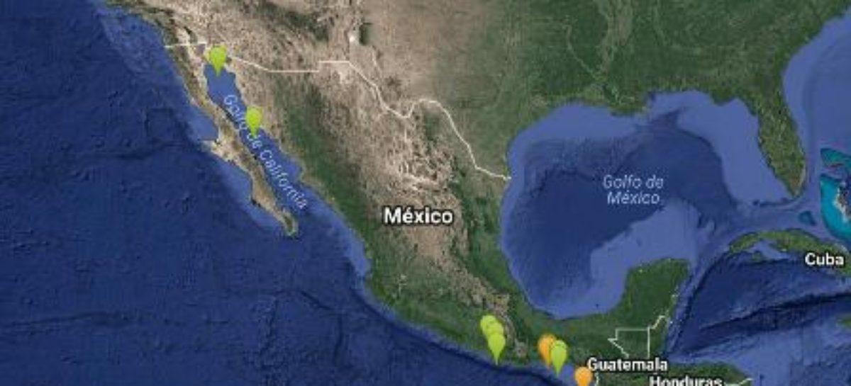 Registra Sismológico 20 sismos este miércoles con epicentro en Oaxaca